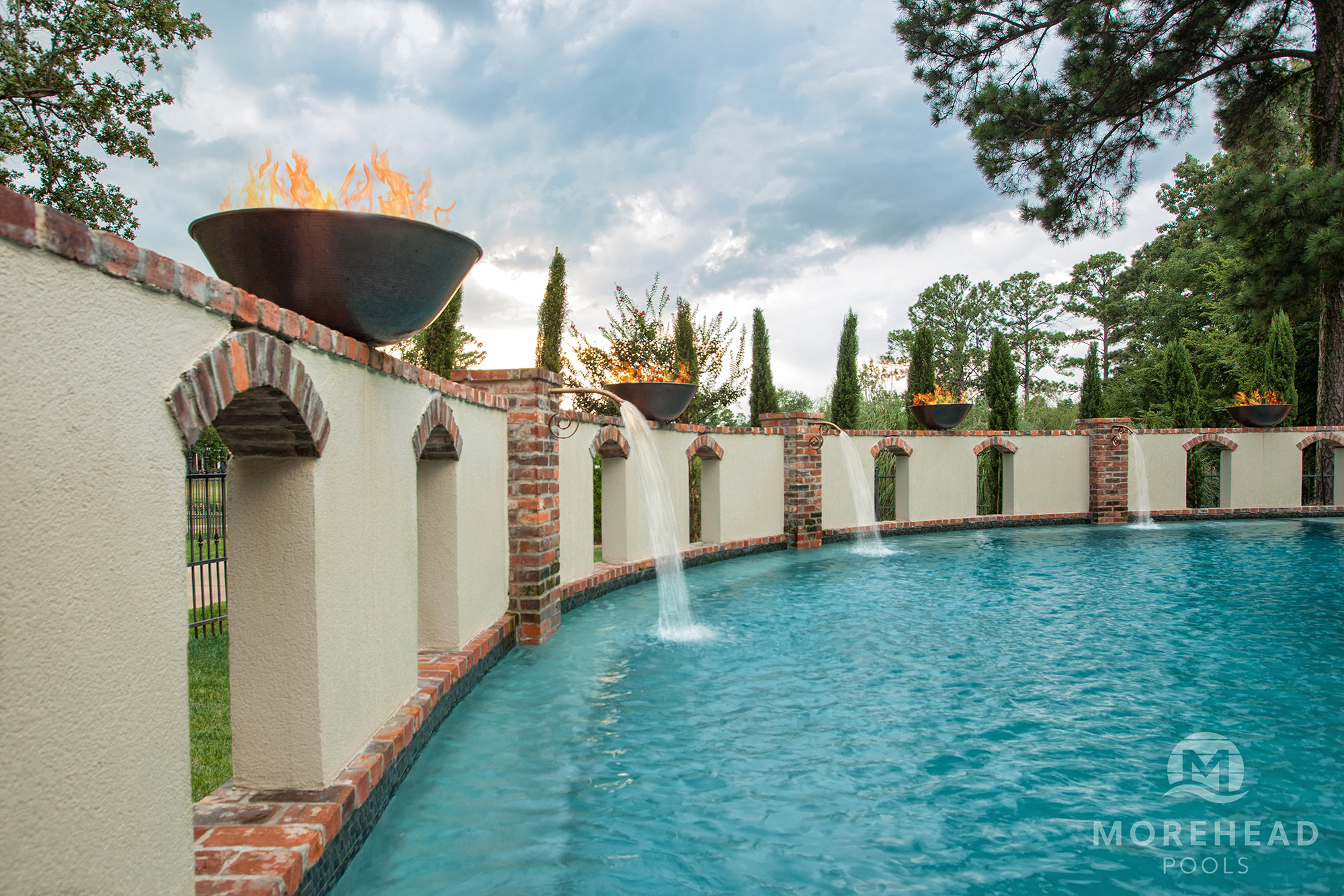Swimming Pool Fountains in Shreveport & Bossier City LA ...