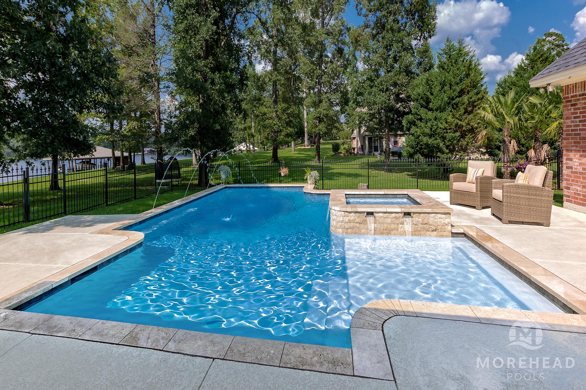 Tanning Ledges in Shreveport & Bossier City LA  Morehead Pools