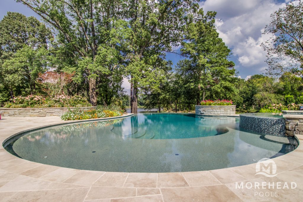 Infinity pool concept planned by Morehead Pools