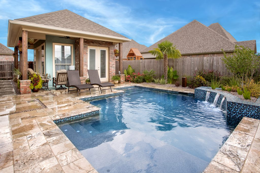 Pool types for small backyards